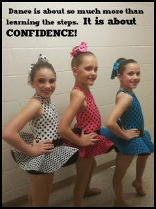 dance builds confidence