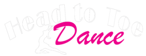 Head to Toe Dance Studio White Logo